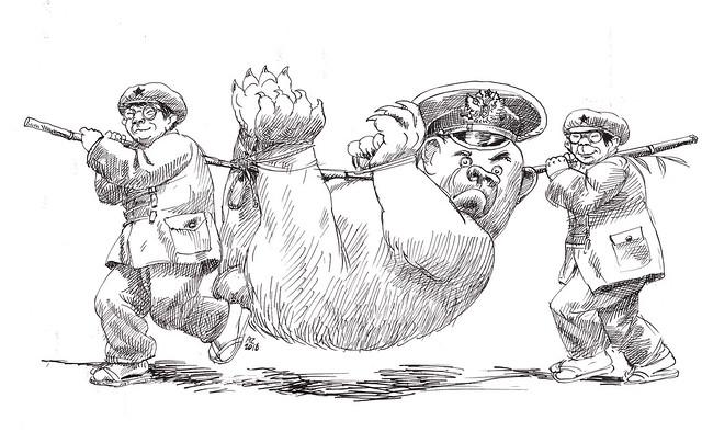 Andrzej Zareba - Political cartoons