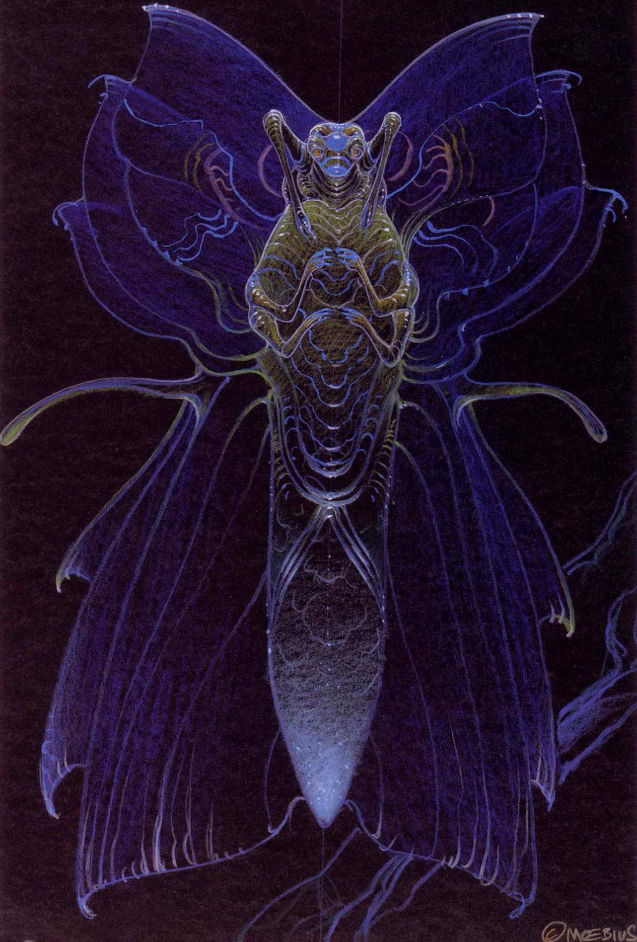 Moebius - Alien Concepts For Abyss 3