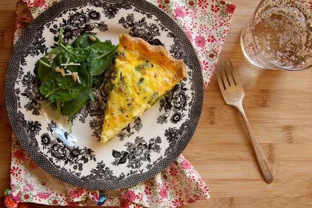 Gluten-Free Asparagus Quiche | Joy the Baker