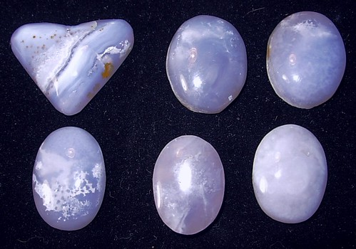 Blue Lace Agate Cabs