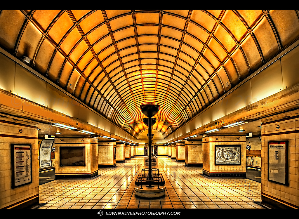 London Underground Art Deco