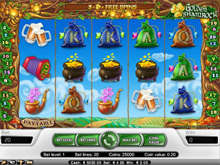 Golden Shamrock slot game online review