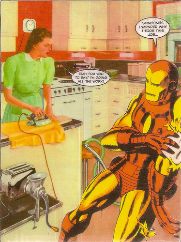 Iron Man & Iron Woman by What Would Jesus Glue?