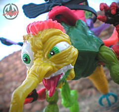 """MEGA MUTANTS"" TEENAGE MUTANT NINJA TURTLES :: NEEDLENOSE xxi (( 1990 ))"