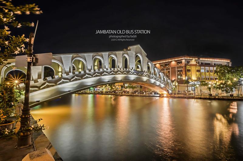-Jambatan Old bus station Melaka