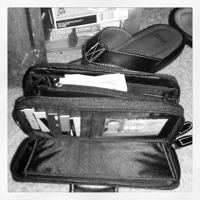 inside my wallet