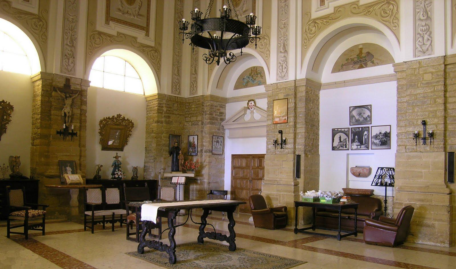Interior de la Sacristía de la Parroquia de Porcuna
