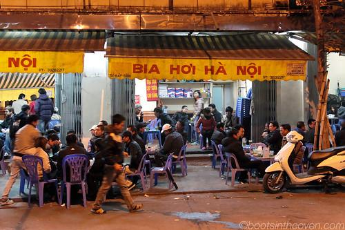 The Bia Hoi Corner!