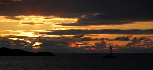 Sunset at the Atlantic Road