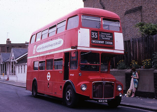 London Transport route 33 at Richmond