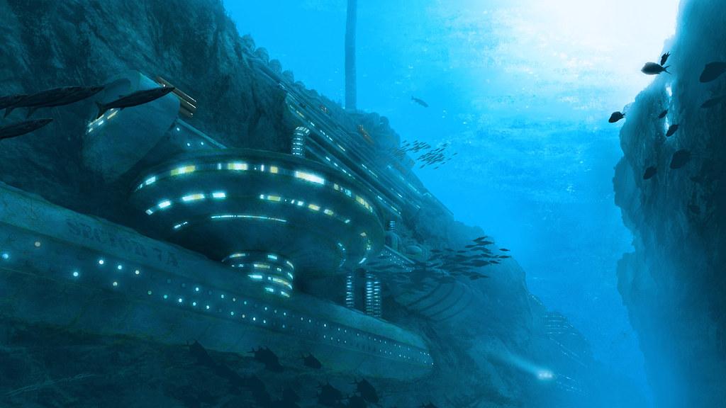 E.O.W Round #187: Underwater Research Facility - (Winner: Veshkau)