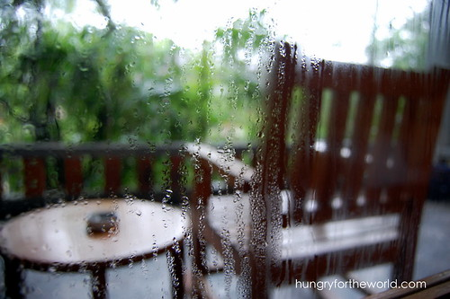 rainy outside