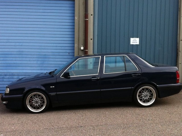 lancia thema turbo 16v lx work rezax wheels flickr photo sharing. Black Bedroom Furniture Sets. Home Design Ideas