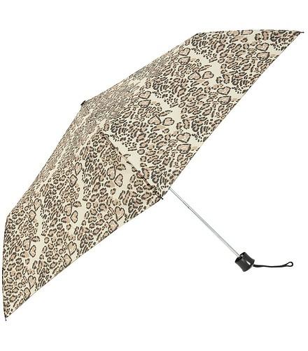 Neutral leopard umbrella
