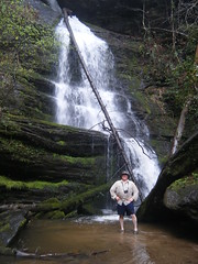 Houston at Wright Creek Falls