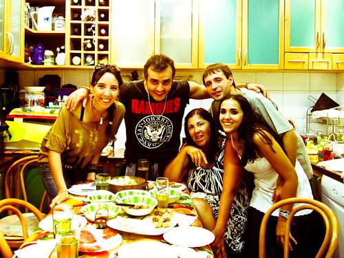 Reunión familiar en Buenos Aires