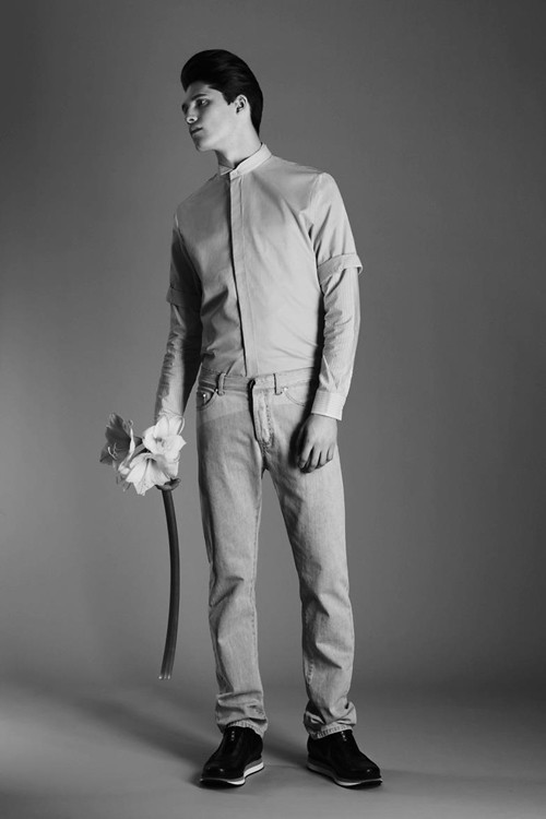 Editorial - L'Officiel Hommes Ukraine, S/S 12 — Arthur Daniyarov by Anton Kovalenko and styling by Venya Brykalin