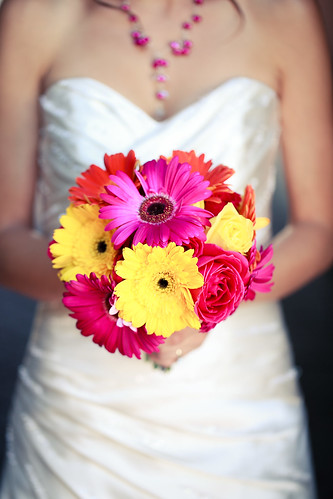 Gerber Daisies and Roses Bouquet