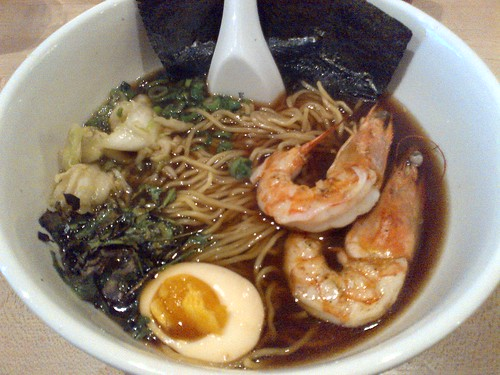 Prawn Ramen with Red Miso at Momofuku Noodle Bar