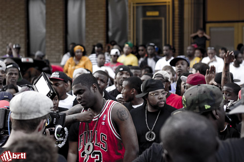 "Big Krit @ ""I Got This"" music video shoot"