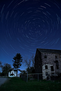 Star Trails at Pawling Farm