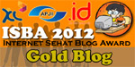 Internet Sehat Blog Award 2012 Gold Blog