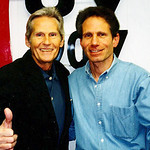 Levon Helm with Dennis Elsas in WFUV's Studio A