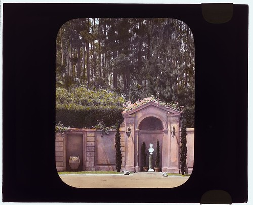 """Villa Rose,"" Joseph Donahoe Grant house, 2260 Redington Road, Hillsborough, California. (LOC)"
