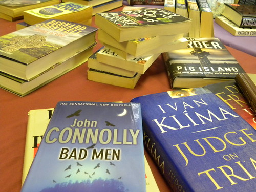 Second hand books for sale at Chinley BookFest