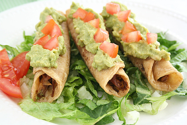 Mexican Chicken Taquitos - Food So Good Mall