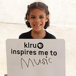 KLRU inspires me to ... music
