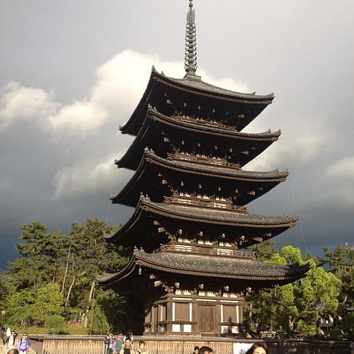 Pagoda de Kofujuki #nara #japon #japan