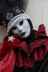 Venice Carnival costume, Venice, Italy