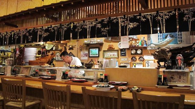 Sushi Kim's sushi bar