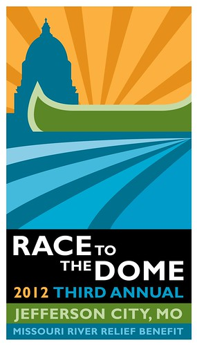 Third Annual Race to the Dome Poster 2012