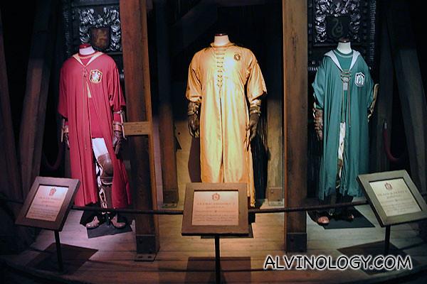 More Quidditch uniforms