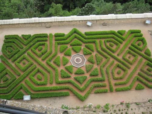 アルカサルから見下ろす庭 by Poran111