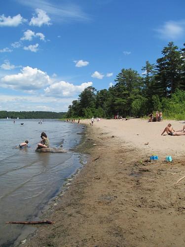 park beach québec hudson montérégie vaudreuilsoulanges sandybeachnaturepark