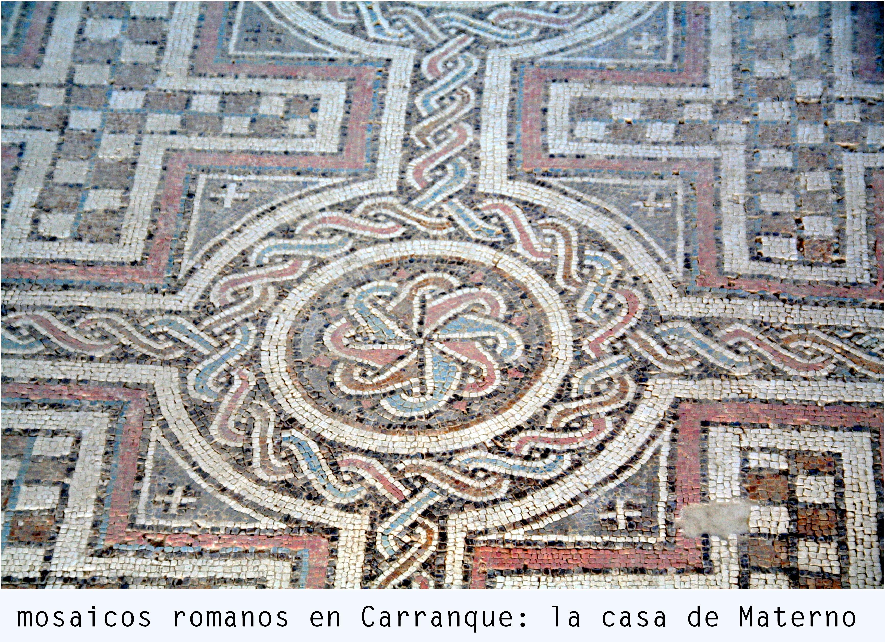 Mosaicos romanos en carranque la casa de materno for Mosaico romano