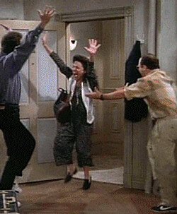 seinfeld happy dance