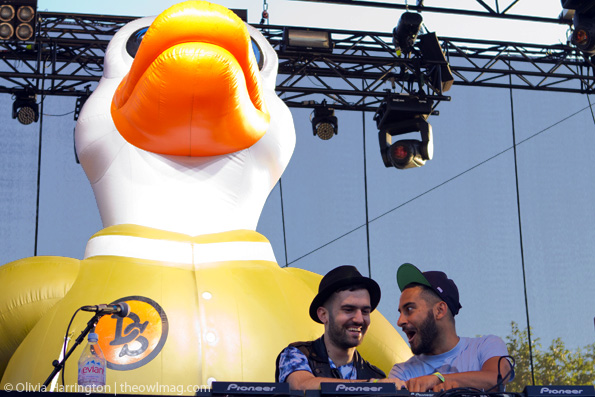 Duck Sauce @ Governor's Ball 2012