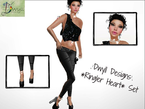 .:Dwyll Designs:. *Ringler Heart* Set by Cherokeeh Asteria
