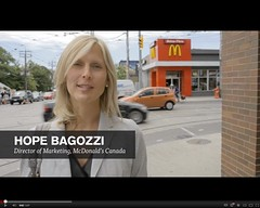 McDonald's - Our Food. Your Questions. campaign - Hope Bagozzi, Director of Marketing, McDonald's Canada