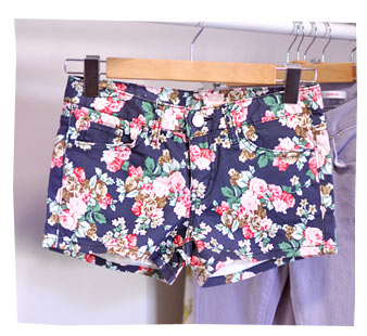 YesStyle Flower Shorts