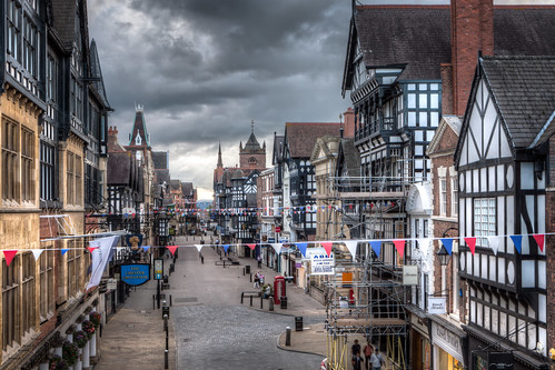 Eastgate Street 2012, Chester by Mark Carline