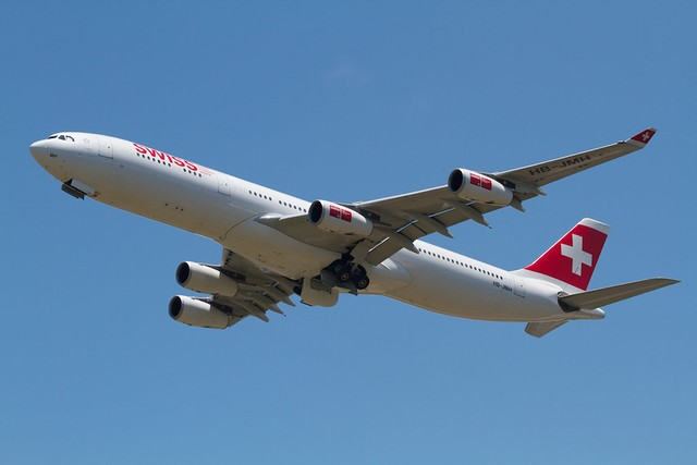 SWISS International Airlines A340