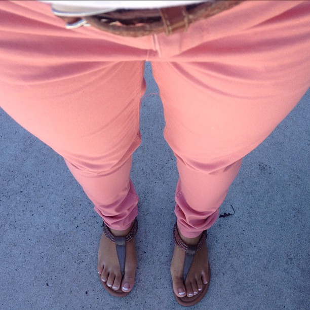 Guava pink pants!