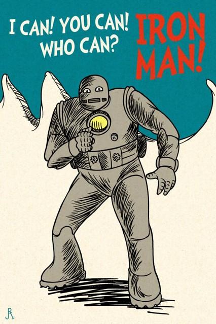 Dr. Seuss Iron Man