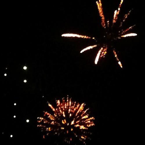 Fireworks at Wintersmith Park