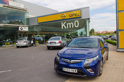 Opel Ampera, Coche del Año 2012 en Europa